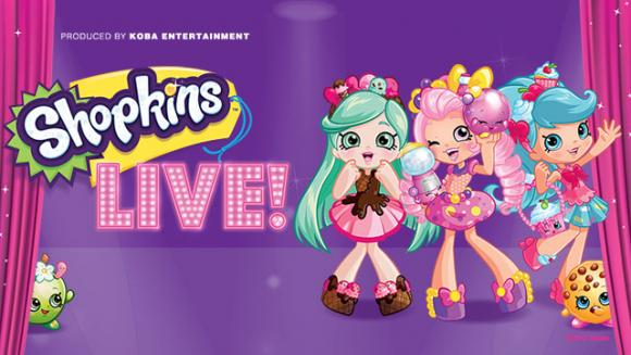 Shopkins Live at San Diego Civic Theatre