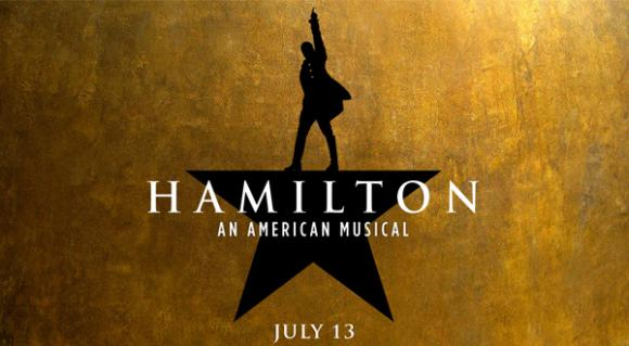Hamilton at San Diego Civic Theatre