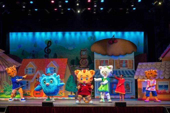 Daniel Tiger's Neighborhood at San Diego Civic Theatre
