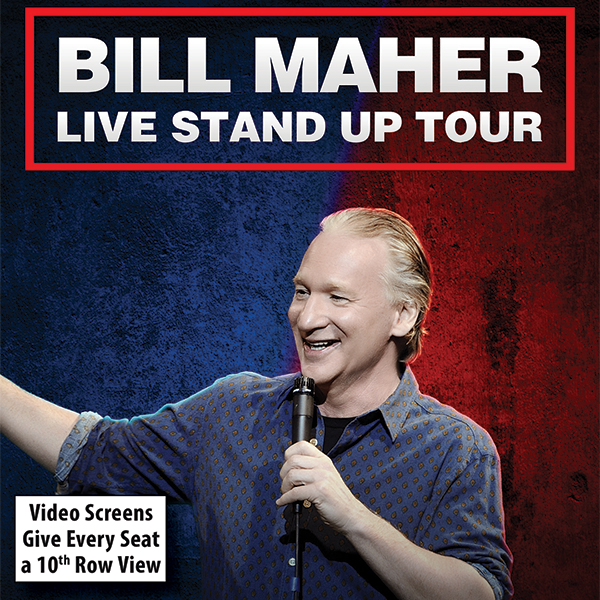 Bill Maher at San Diego Civic Theatre