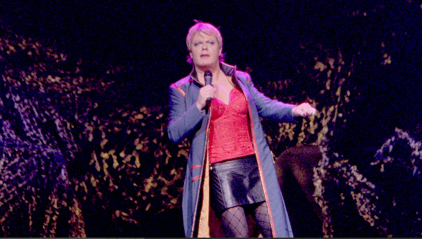 Eddie Izzard at San Diego Civic Theatre