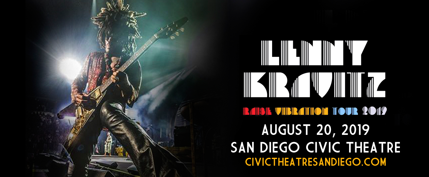 Lenny Kravitz at San Diego Civic Theatre