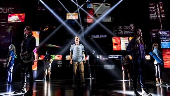 Dear Evan Hansen at San Diego Civic Theatre