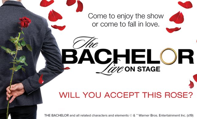 The Bachelor - Live On Stage at San Diego Civic Theatre