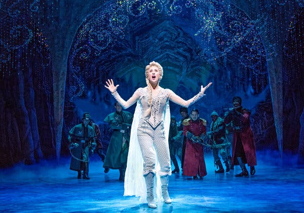 Frozen - The Musical at San Diego Civic Theatre