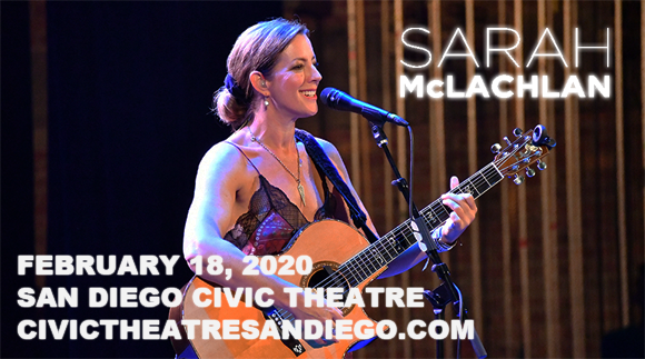 Sarah McLachlan at San Diego Civic Theatre