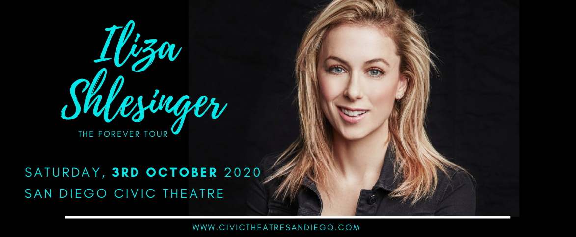 Iliza Shlesinger at San Diego Civic Theatre