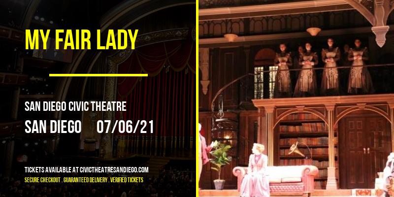 My Fair Lady at San Diego Civic Theatre