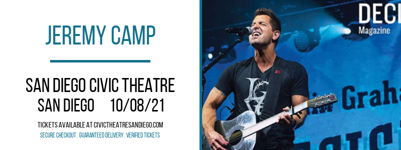 Jeremy Camp at San Diego Civic Theatre
