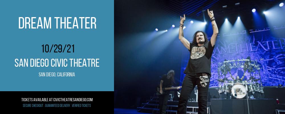 Dream Theater at San Diego Civic Theatre