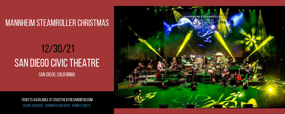 Mannheim Steamroller Christmas at San Diego Civic Theatre